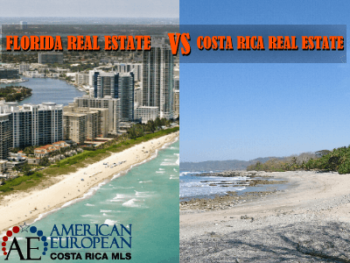 Compare Costa Rica real estate for sale with Florida real estate