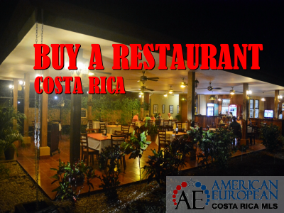 Buy a restaurant business in Costa Rica