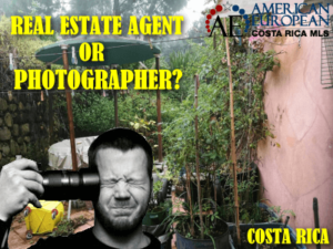 Should my Costa Rica realtor also be a photographer