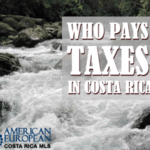 Who pays taxes in Costa Rica