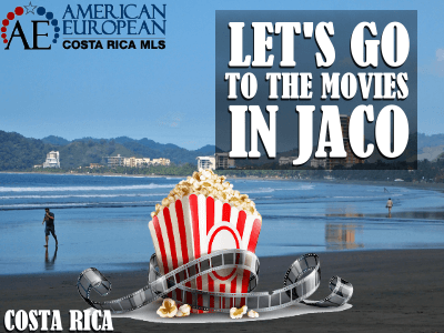 Let's go to the movies in Jaco Beach