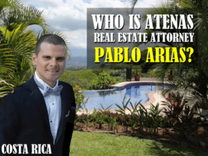 Who is Atenas real estate attorney Pablo Arias