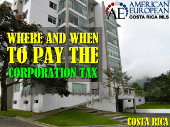 Where and how to pay the Costa Rica corporation tax