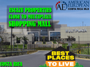 Multiplaza Escazu shopping mall very accessible to residents