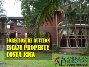Foreclosure Auction coming up on Escazu property