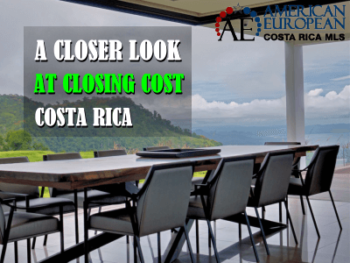 Who pays closing cost when you purchase Costa Rica property
