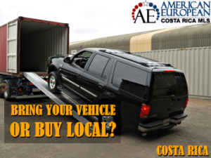 Shipping a vehicle to Costa Rica