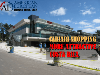 Cariari shopping is becoming more attractive