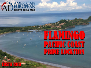 Flamingo Beach Pacific coast prime location