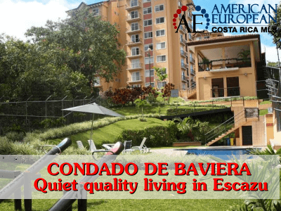 Condominium Condado de Baviera – quiet quality living in Escazu