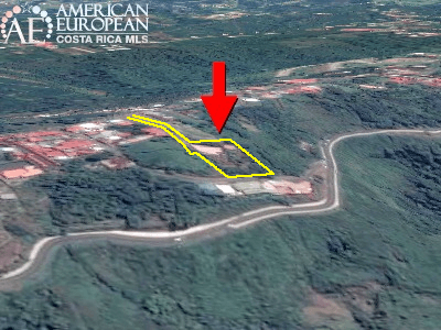An unregistered easement to access a property in Alajuela