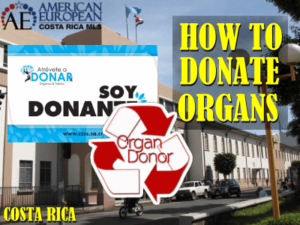 How to donate your organs in Costa Rica