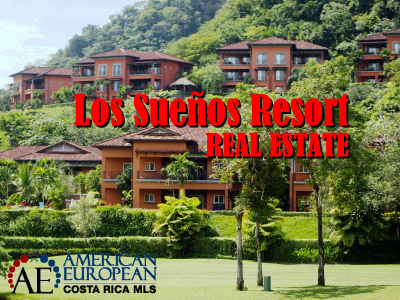 Luxury homes and condos at Los Suenos Resort Costa Rica