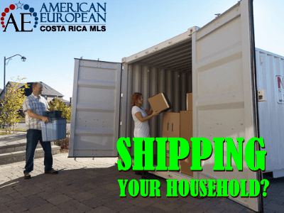 Shipping your household
