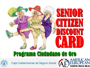 Senior citizen discount program
