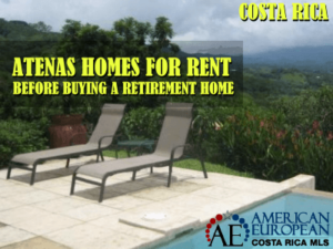 Atenas homes for rent before you buy your retirement home