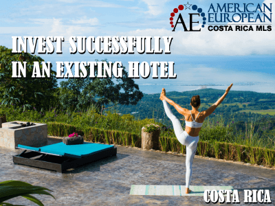 Invest in an existing hotel and you're already half way to success