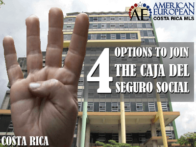 Four Options To Join The Caja del Seguro Social