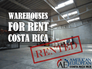 sta Rica warehouses for rent