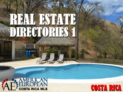 International Real Estate directories and resources