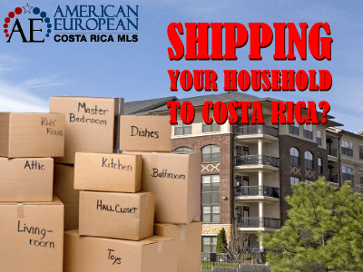 Shipping your household to Costa Rica