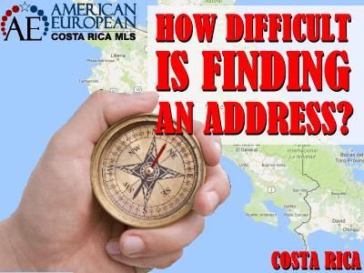 Finding an address in Costa Rica