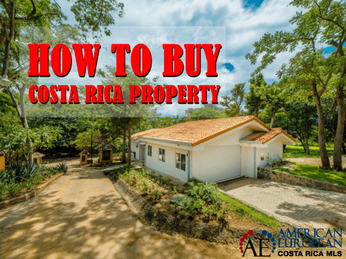 How to buy Costa Rica property for sale