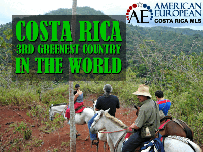 Costa Rica - 3rd Greenest Country in The World