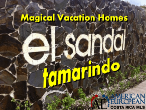 Magical vacation beach homes in Tamarindo beach El Sandal gated community