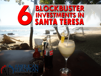 6 Blockbuster investments in Santa Teresa real estate with added value