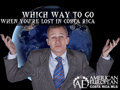 8 Rules on how not to get lost in Costa Rica