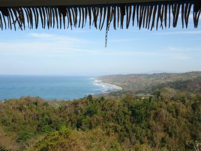 The beaches of Santa Teresa as seen from Mal Pais
