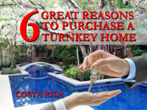 turnkey home for sale in Costa Rica