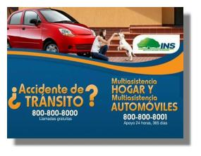 What to do when you have a car accident in Costa Rica?