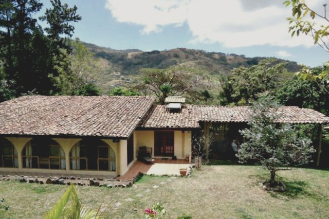 Costa Rica home for sale with a guest house in the Central Valley