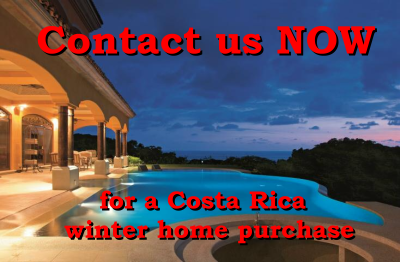 Search for Costa Rica winter homes for sale here