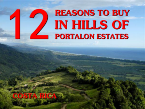 12 reasons to buy property in Hills of Portalon