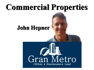 John Hepner, AE affiliate for commercial property in the Central Valley