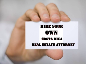 Legal consultation with Costa Rica real estate lawyer
