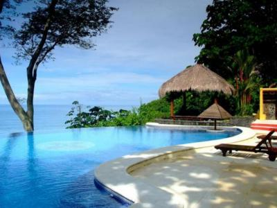 The view from this Dominical Ocean View Estate