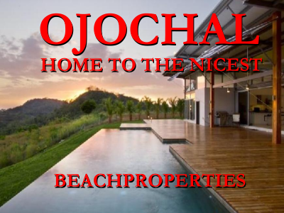 Ojochal is home to the nicest beach properties in Costa Rica