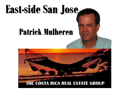 Patrick Mulheren, AE affiliate for East-side San Jose - Curridabat real estate