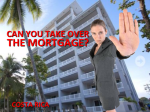 Taking over an existing mortgage