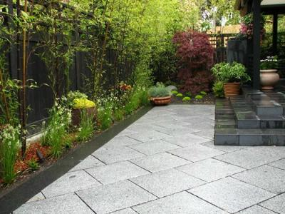 Use small plants in your tiny backyard