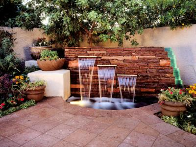 Add a feature to your tiny backyard