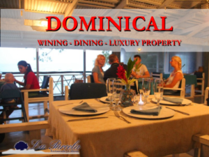 wining and dining in Dominical