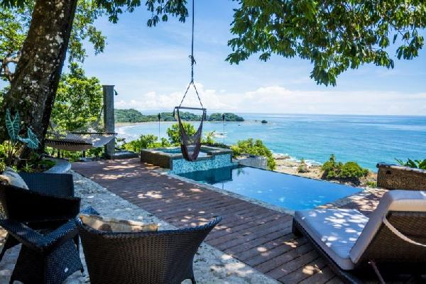 Three Dominical luxury ocean view villas, a home and penthouse suite for sale