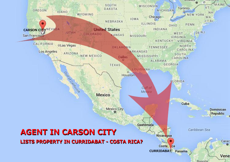 Carson City is 3,800 miles away from Costa Rica