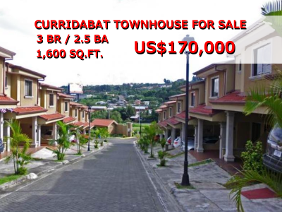 A Curridabat townhouse for sale