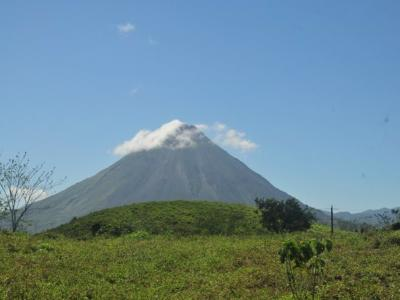 Perfect Hotel site with Arenal volcano view for sale